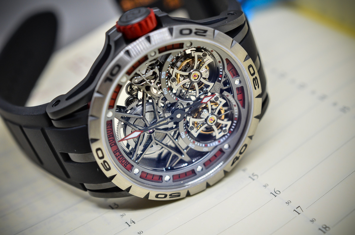 Roger Dubuis Excalibur Spider Skeleton Double Flying Tourbillon - 1