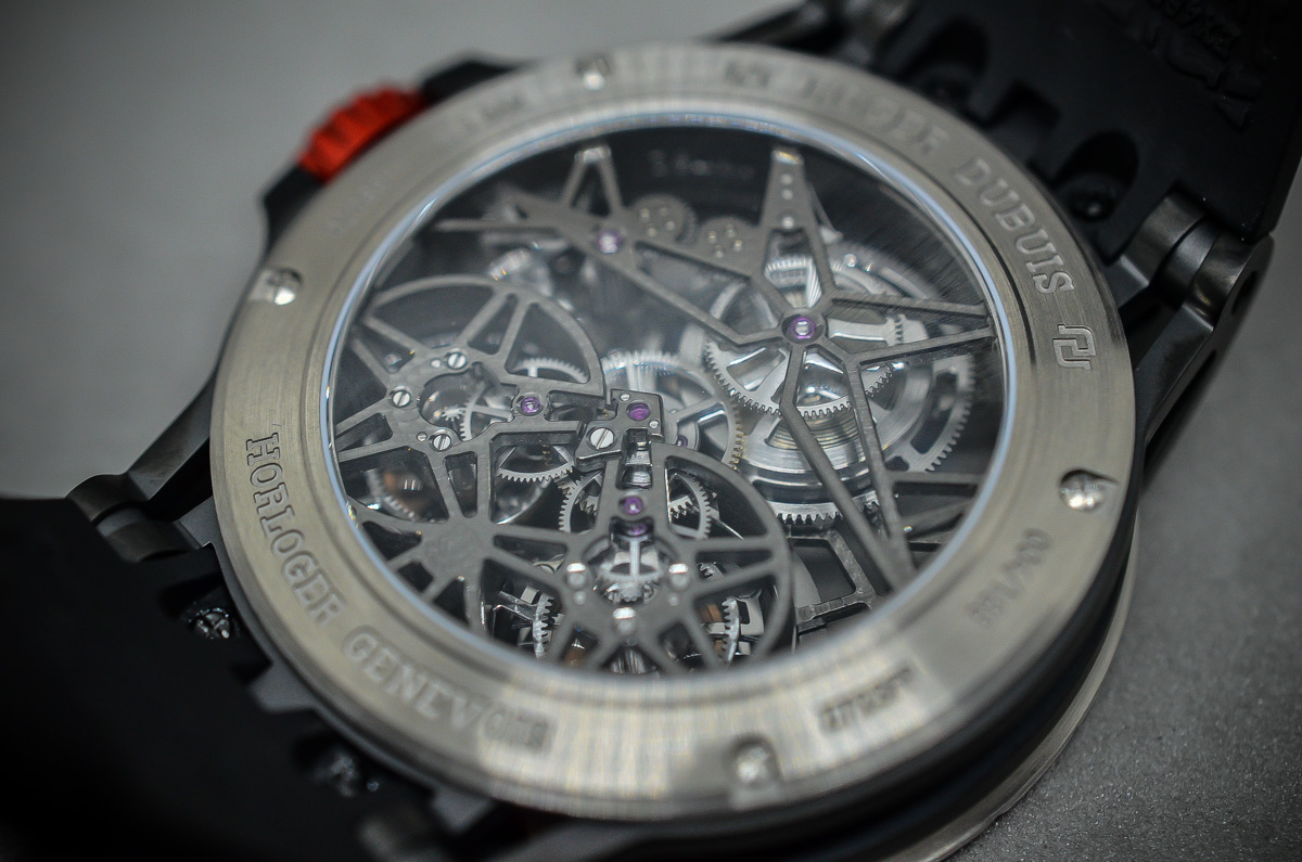 Roger Dubuis Excalibur Spider Skeleton Double Flying Tourbillon - 6