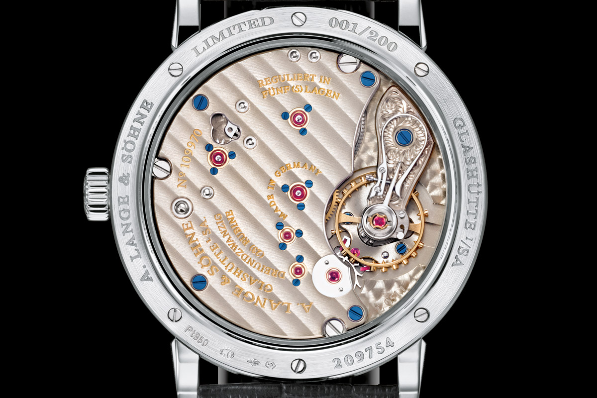 A. Lange and Sohne 1815 200th Anniversary F.A. Lange Limited Edition - 3