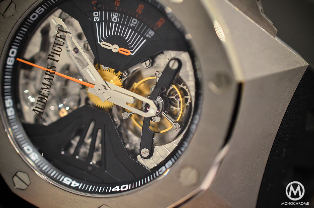 Audemars Piguet Royal Oak Concept RD1 Acoustic Research Minute Repeater - 3