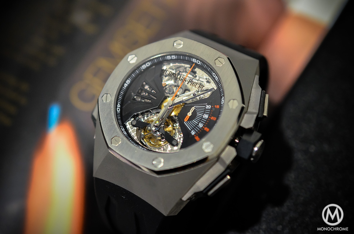 Audemars Piguet Royal Oak Concept RD1 Acoustic Research Minute Repeater - 5