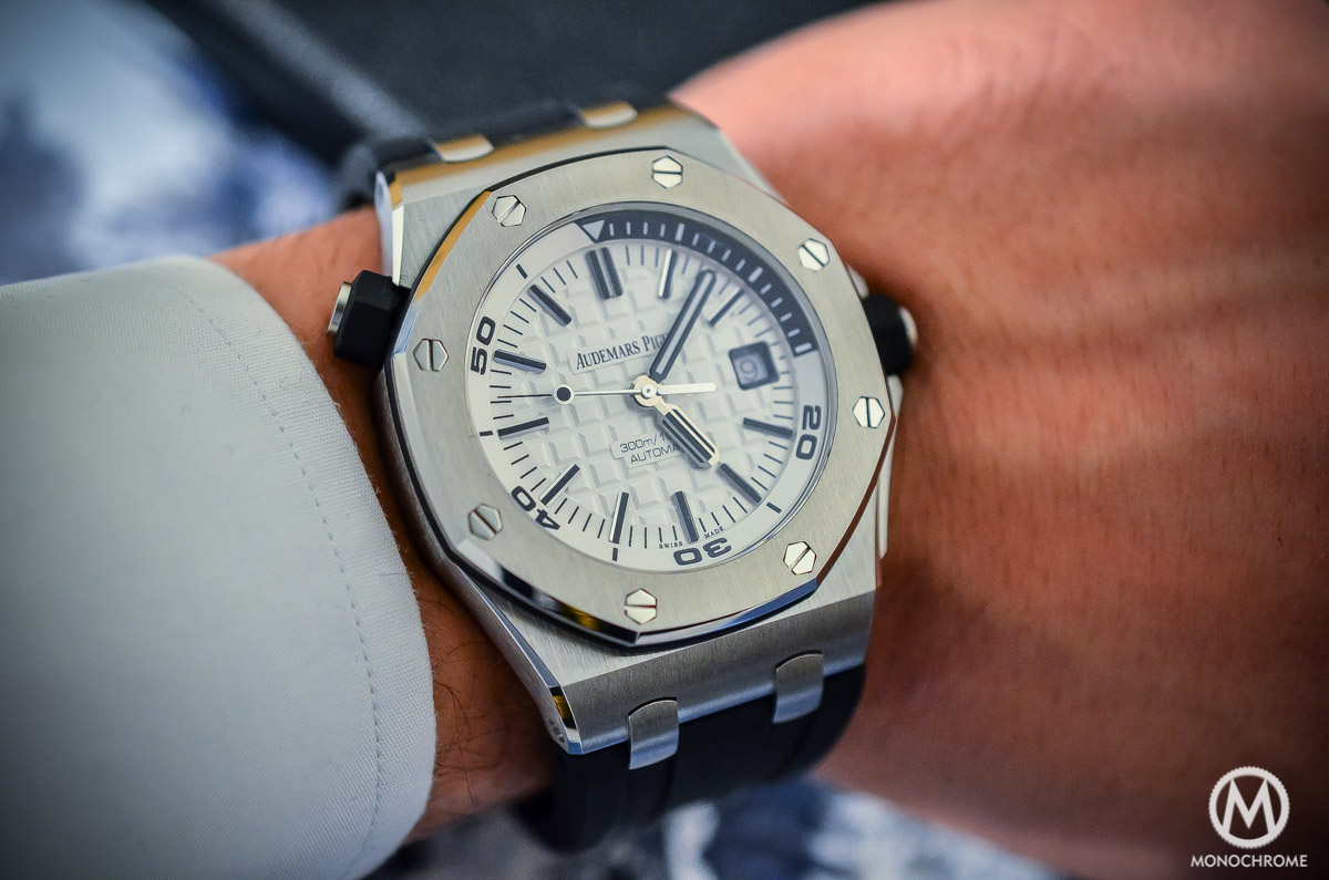 Audemars Piguet Royal Oak Offshore Diver ref. 15710 - 8