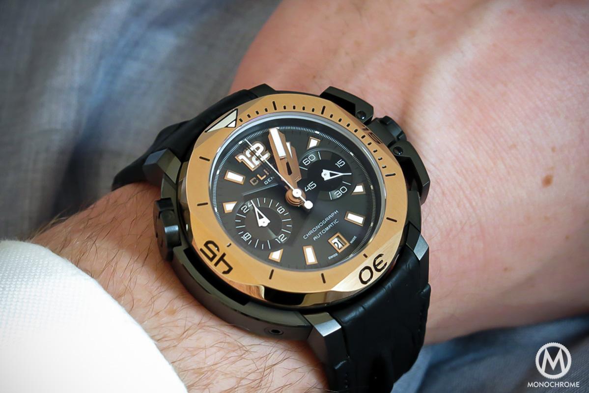 Clerc Hydroscaph chronograph - 2