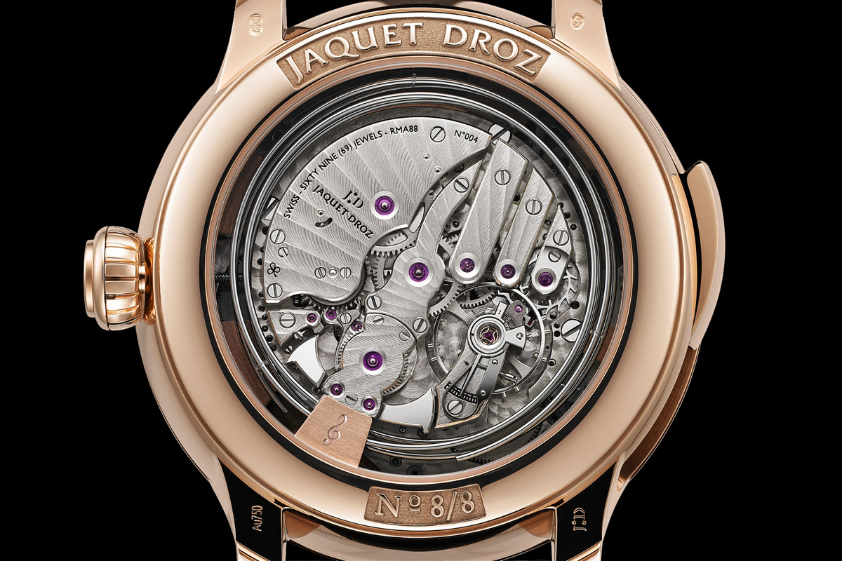 Jaquet Droz Bird Repeater Geneva - 2
