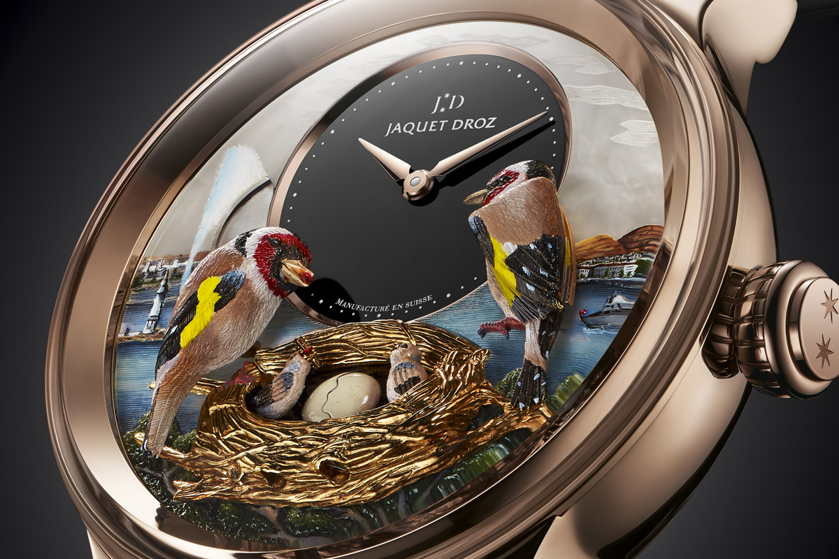 Jaquet Droz Bird Repeater Geneva - 4