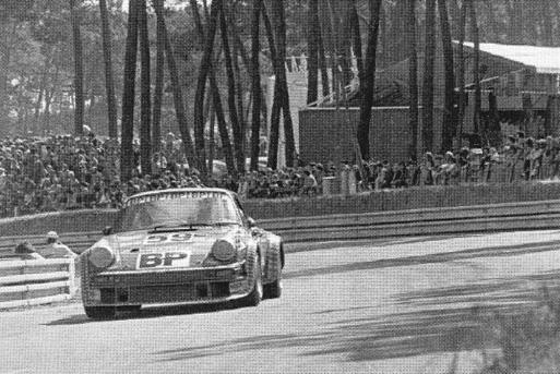 Laurent Ferrier in a Porsche
