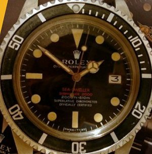 Rolex Sea-Dweller ref 1665 Double Red - Mark II dial