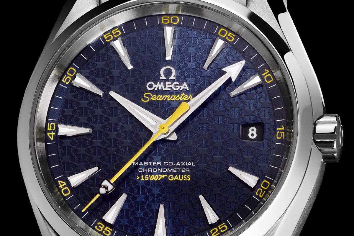 Omega Seamaster Aqua Terra 150m Master Co-Axial James Bond 007 Spectre - 4