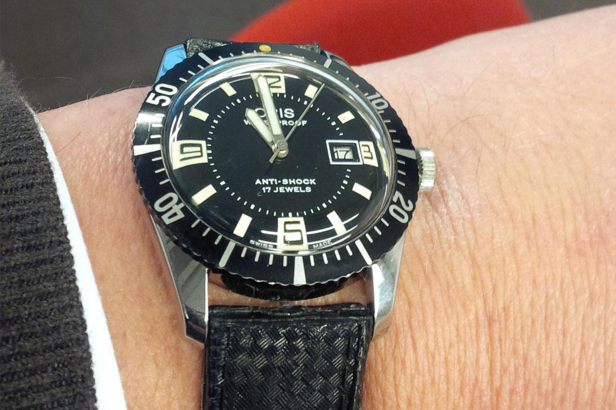 Oris Divers vintage 1960s