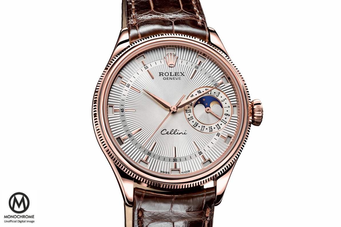 Rolex Cellini Annual Calendar Moon Phase Baselworld 2015 - 1