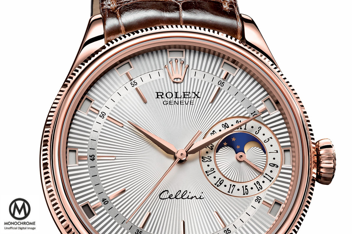 Rolex Cellini Annual Calendar Moon Phase Baselworld 2015 - 2