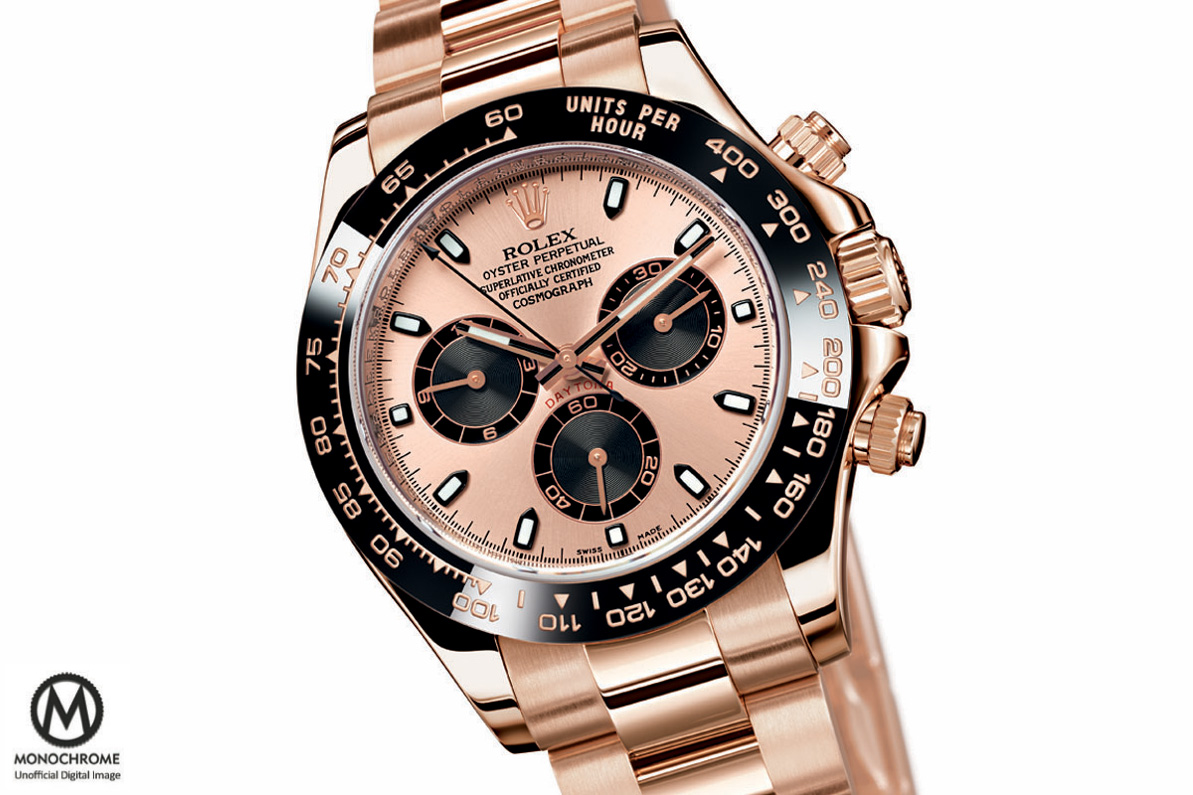 Rolex Daytona full Pink Gold Everose Ceramic bezel Baselworld 2015 - 1
