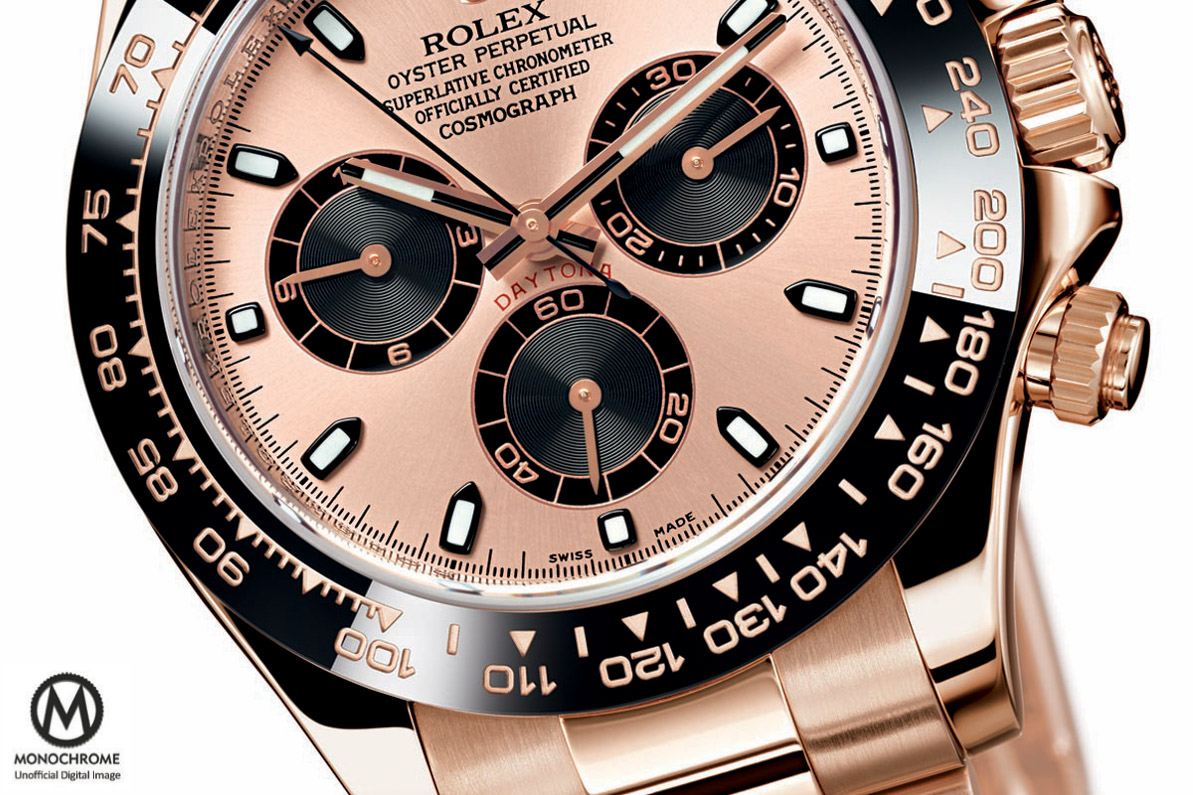 Rolex Daytona full Pink Gold Everose Ceramic bezel Baselworld 2015 - 2