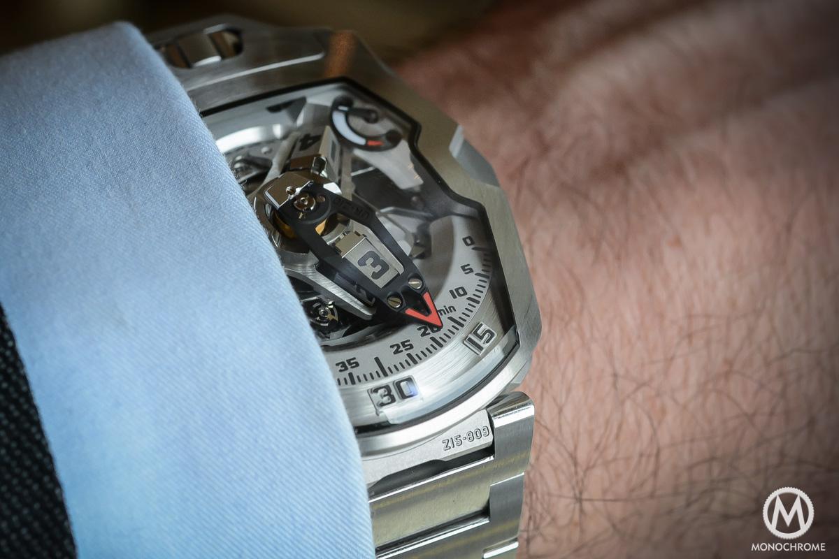 Urwerk UR-210S bracelet - 3
