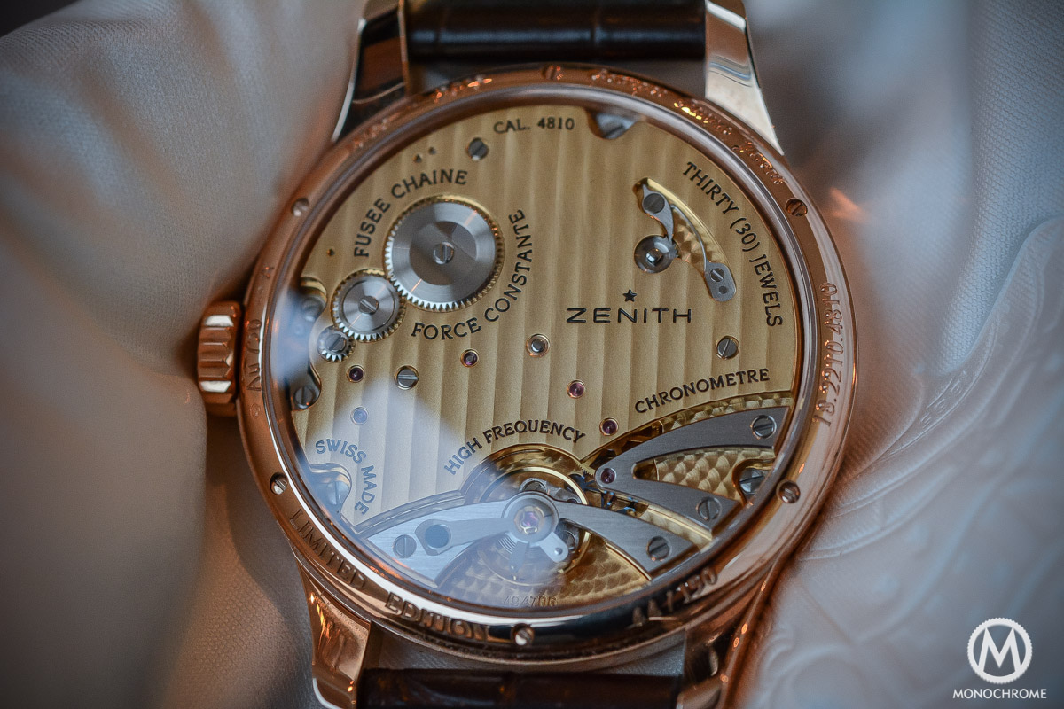 Zenith Academy Georges Favre-Jacot Fuse chain - 6