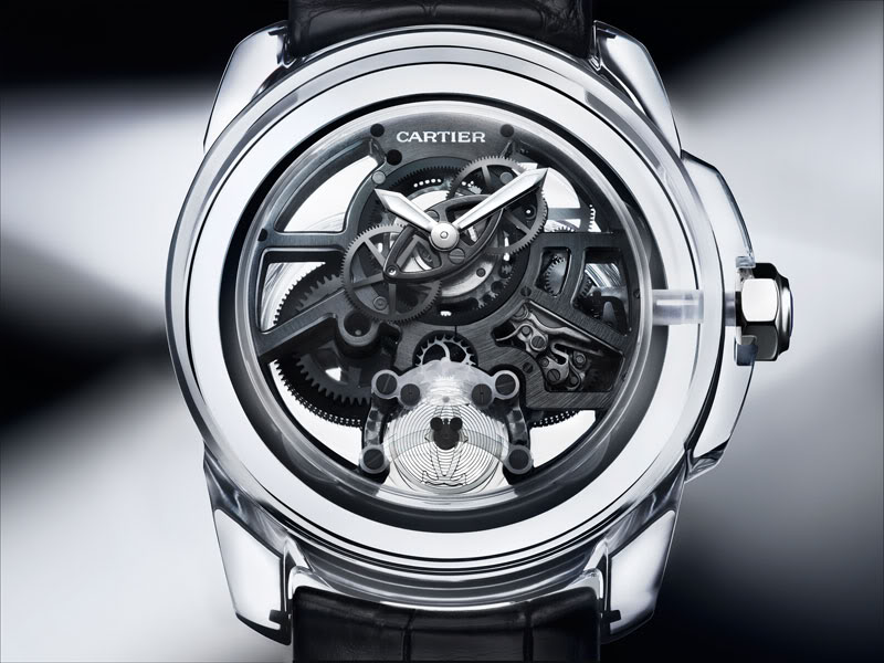 Cartier ID Two - World s First High-Efficiency Watch - Monochrome Watches 47d2415615