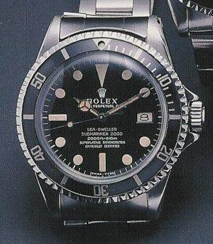 Rolex Sea-Dweller ref 1665 Great White - Mark I dial