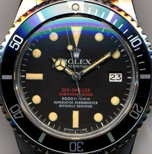 Rolex Sea-Dweller ref 1665 Double Red - Mark III dial