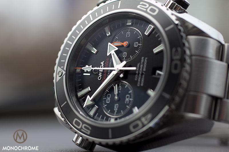 e6fe3cf10564 Omega Seamaster Planet Ocean Chrono reviewed - Monochrome Watches