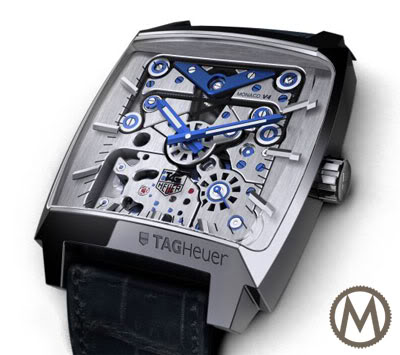 10492e615b7 TAG Heuer Monaco V4 Concept Watch - Monochrome Watches