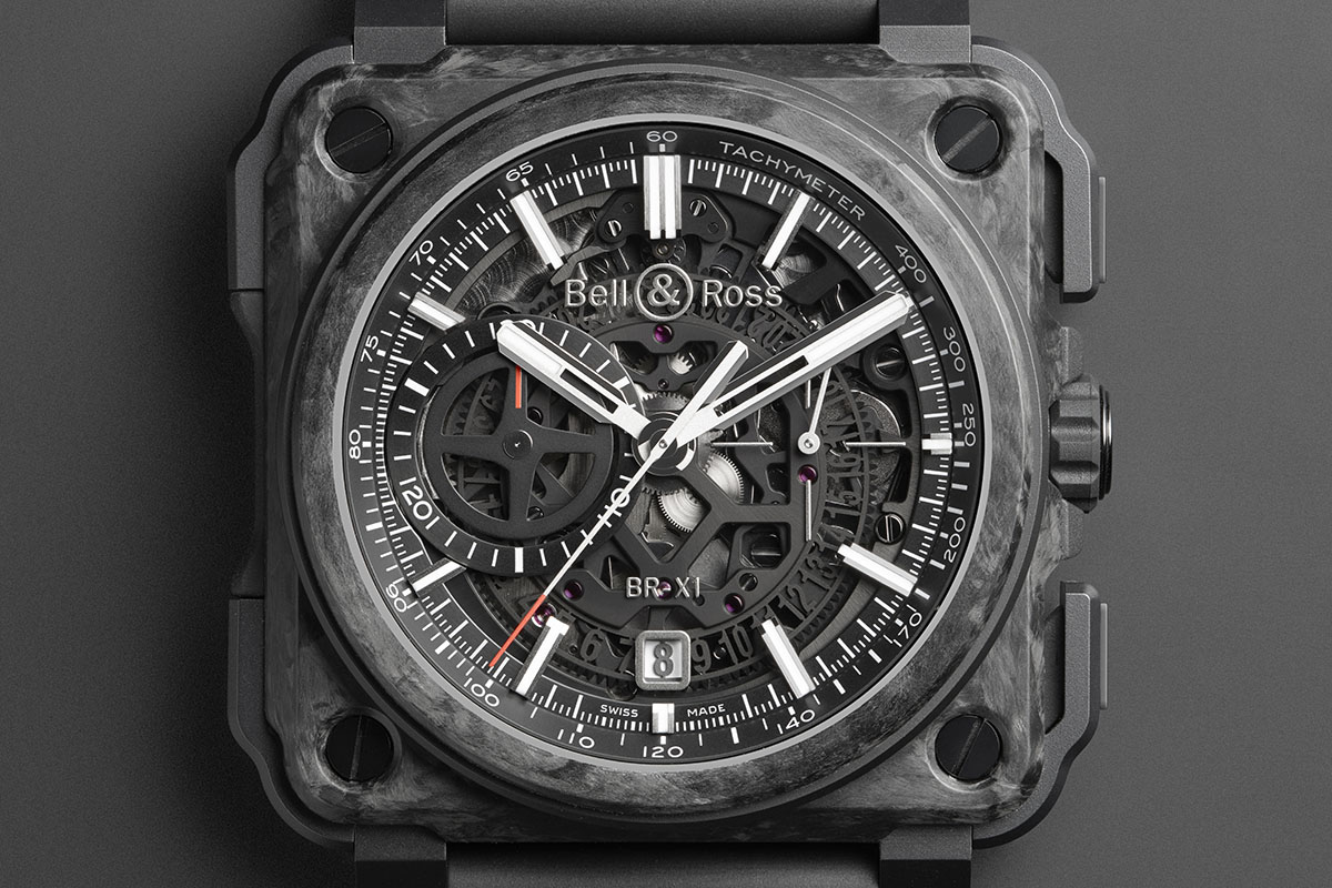 Bell & Ross BR-X1 Skeleton Chronograph Carbon Forge
