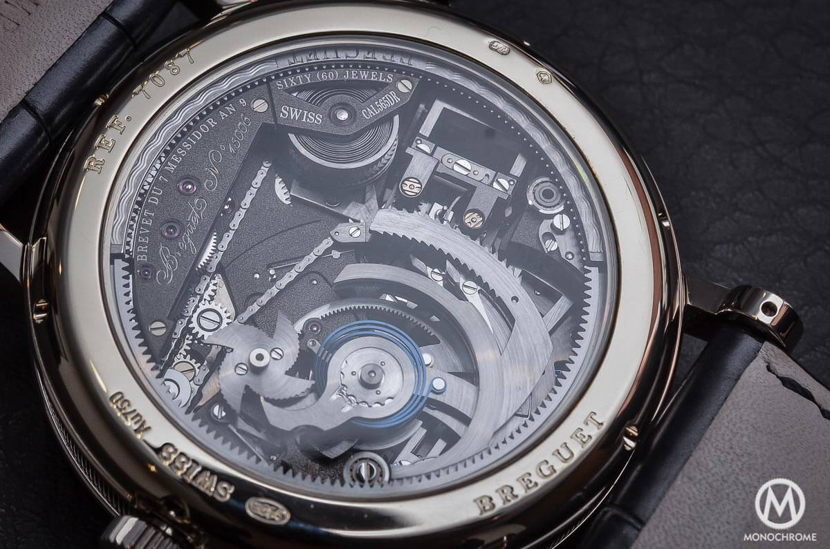Breguet Tradition Minute Repeater Tourbillon 7087 - 4