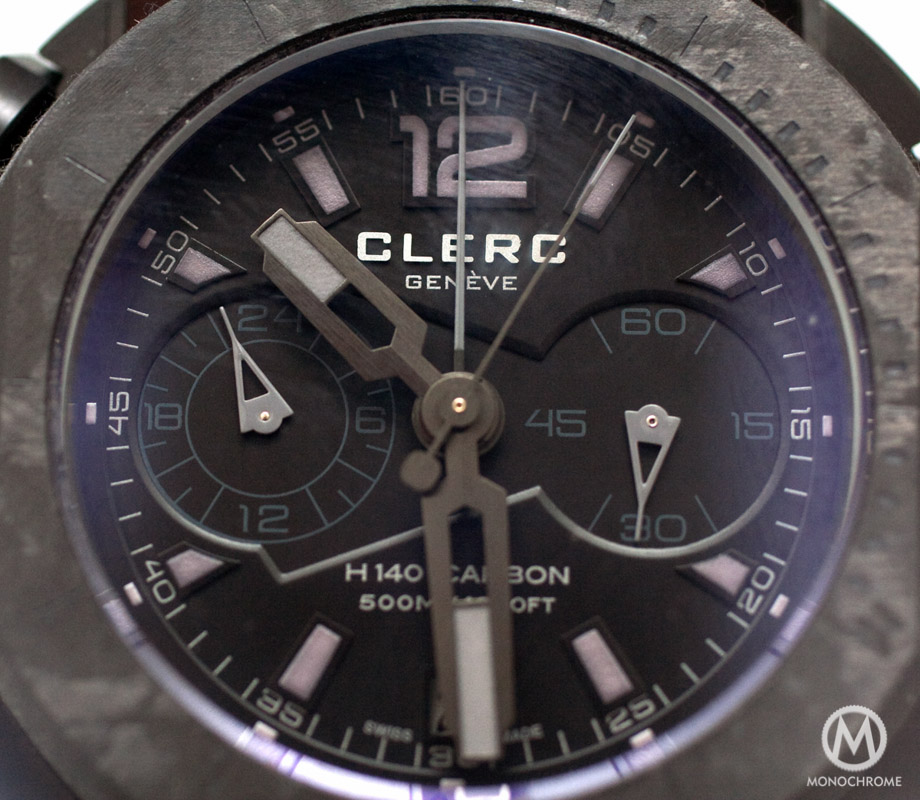 Clerc Hydroscaph Chronograph H140 Carbon Limited Edition