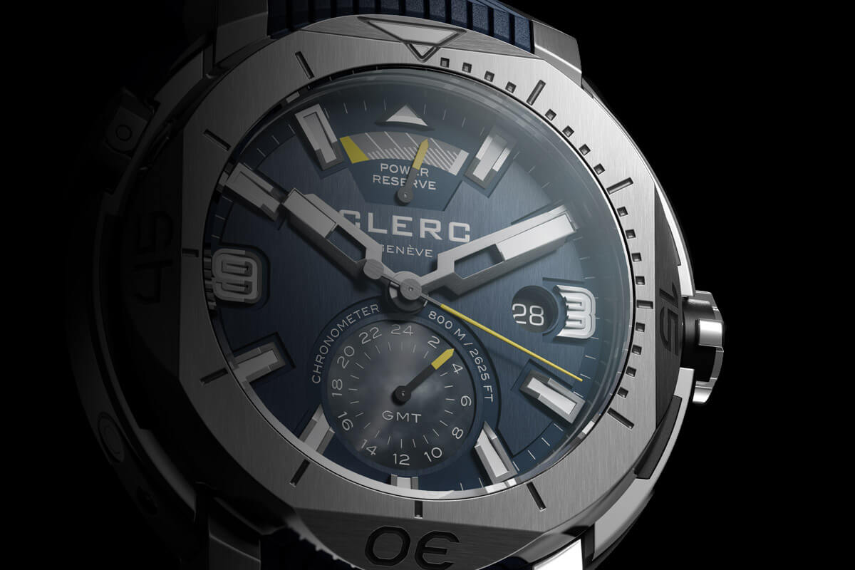 Clerc Hydroscaph GMT Power Reserve Chronometer - 3