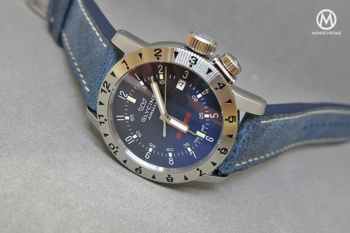 Introducing the Glycine Airman Double Twelve - the First Airman with