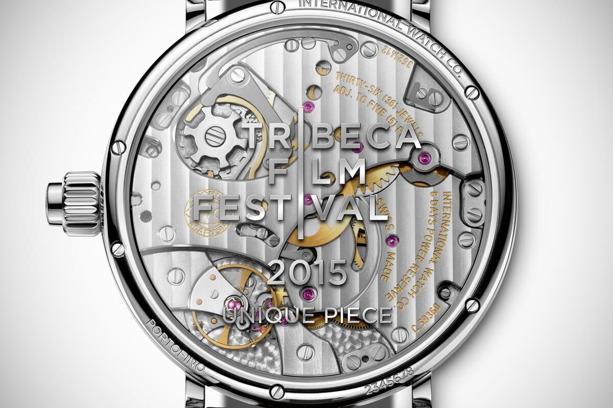IWC Portofino Monopusher Chronograph Tribeca Film Festival