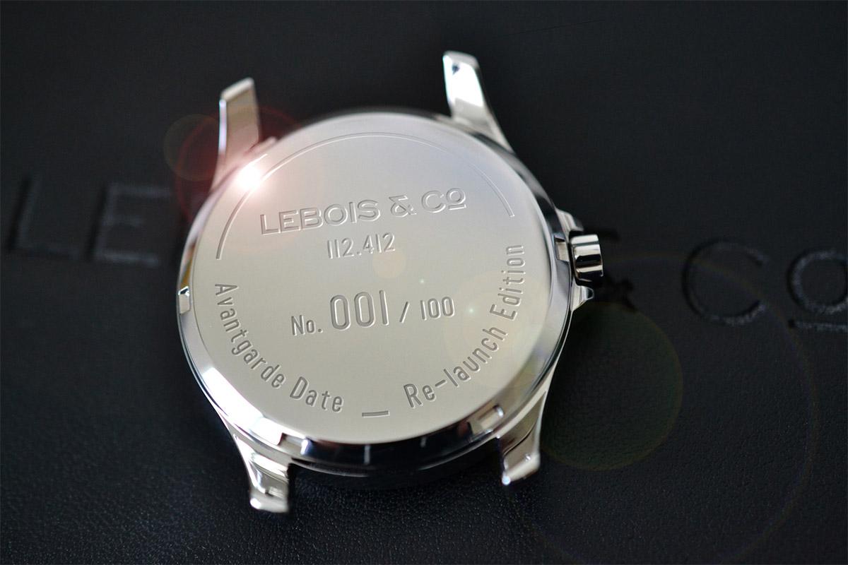 Lebois & co Avangarde Date Launch Edition - 2