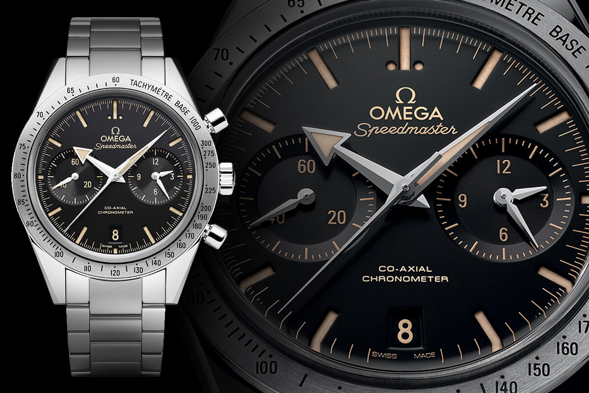 Omega Speedmaster '57 Broad Arrow Co-Axial 9300 Baselworld 2015 - 1