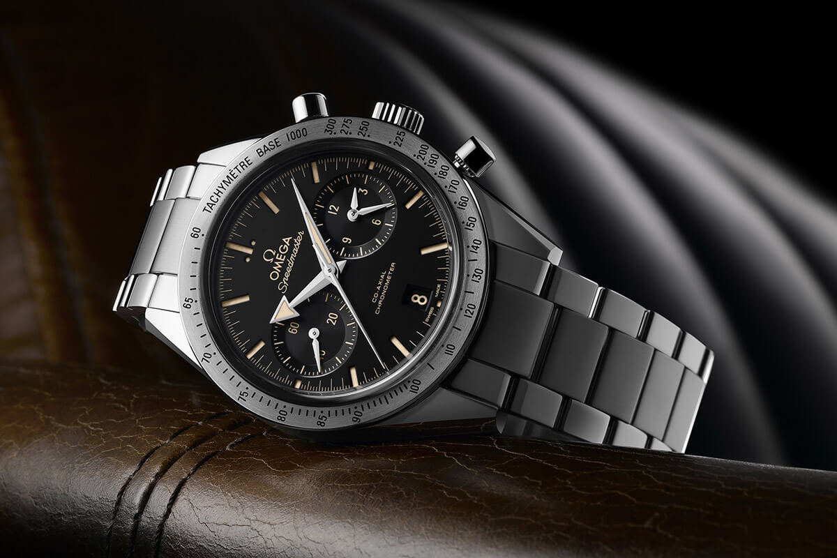 Omega Speedmaster '57 Broad Arrow Co-Axial 9300 Baselworld 2015 - 3