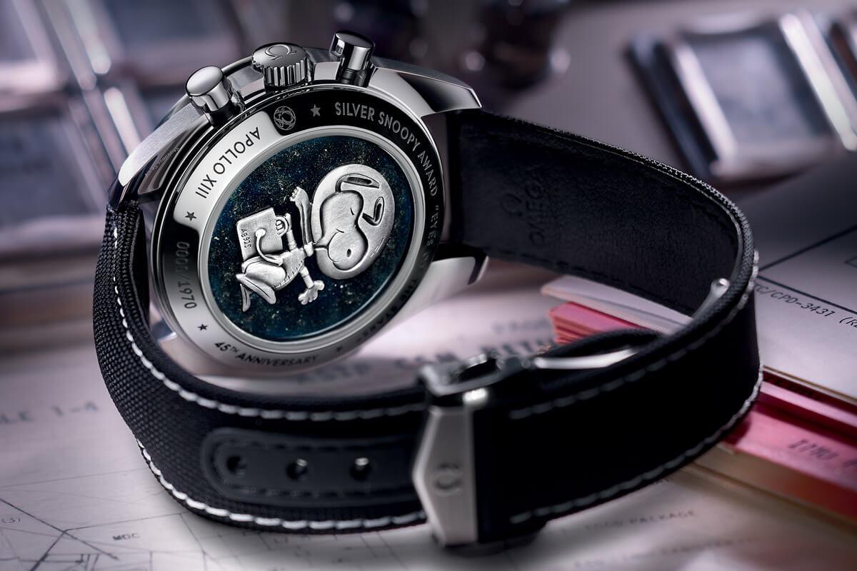 Omega Speedmaster Moonwatch Professional Silver Snoopy Award Apollo 13 - 3
