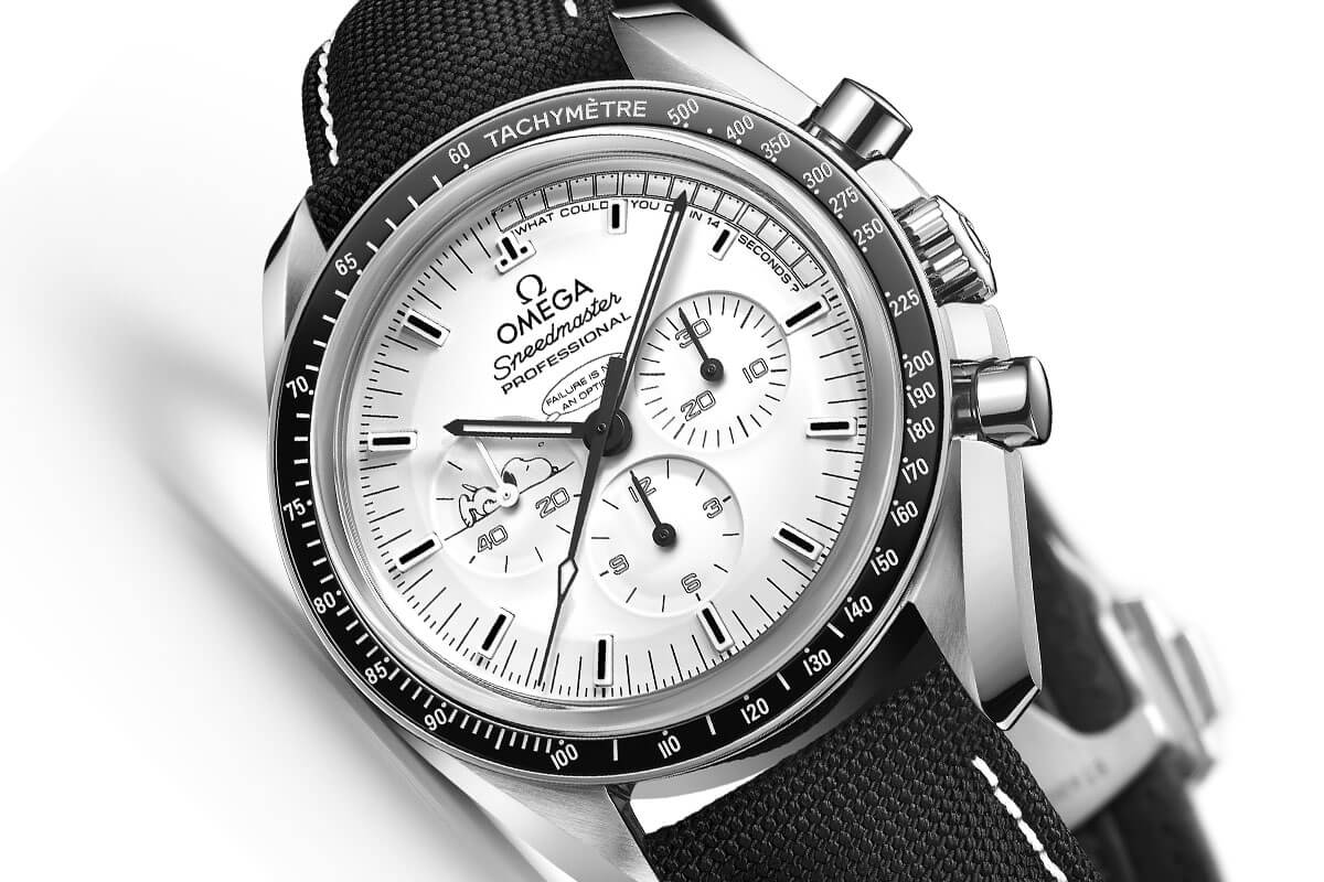 Omega Speedmaster Moonwatch Professional Silver Snoopy Award Apollo 13 - 6
