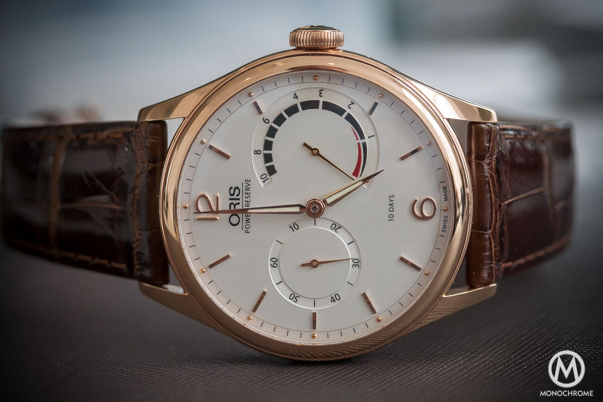Oris 110 years Limited Edition Rose Gold - 3