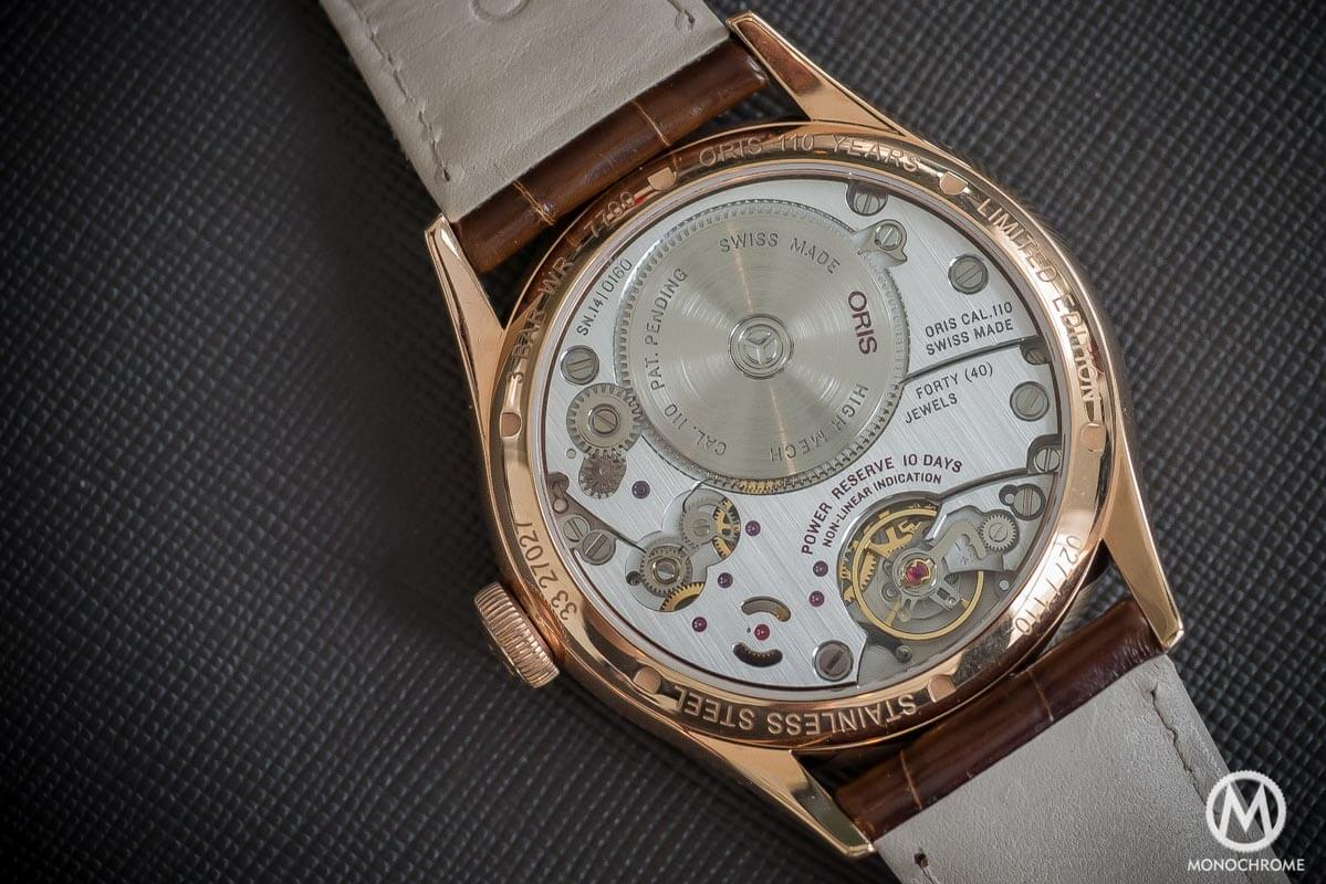 Oris 110 years Limited Edition Rose Gold - 4