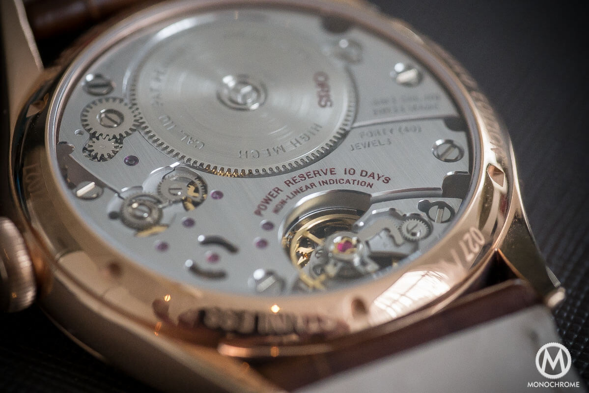 Oris 110 years Limited Edition Rose Gold - 5