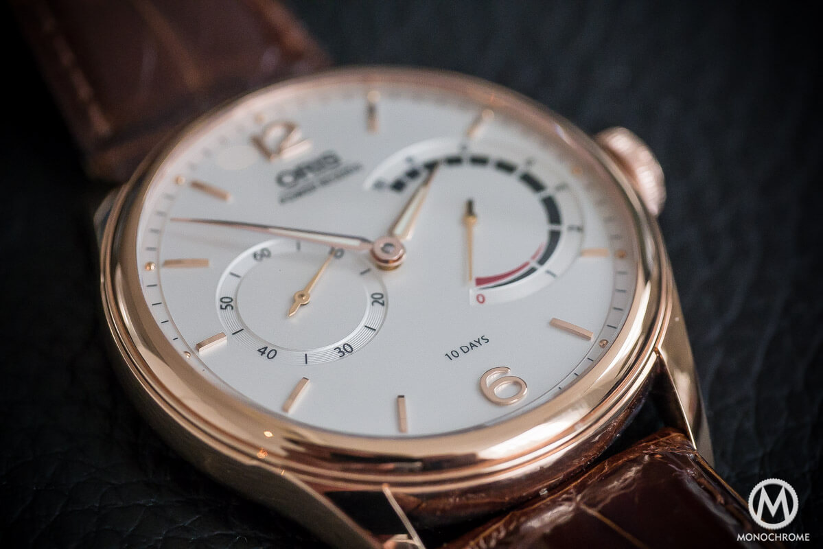 Oris 110 years Limited Edition Rose Gold - 7