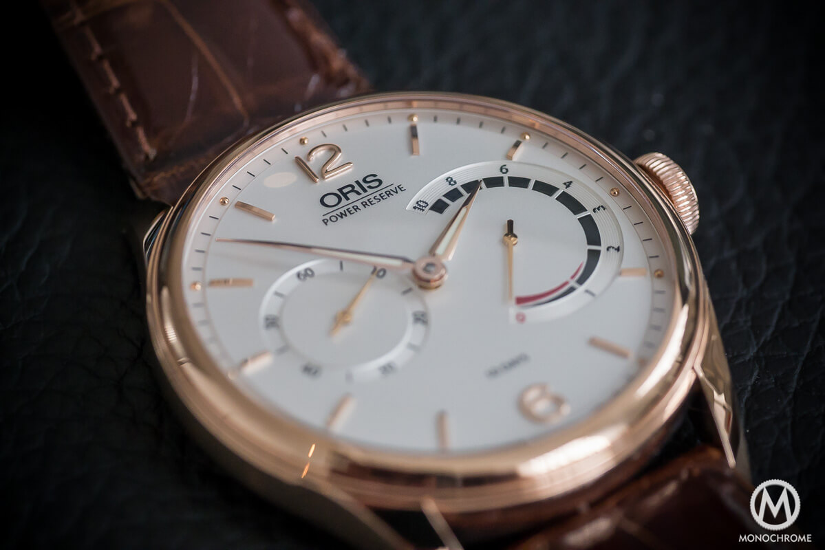 Oris 110 years Limited Edition Rose Gold - 8