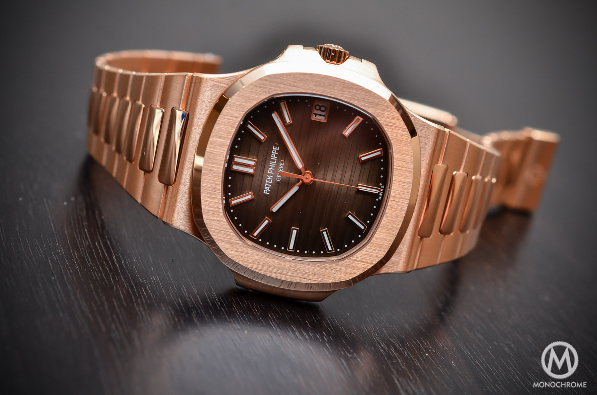 Patek Philippe Nautilus 5711:1R-001 - Rose Gold chocolate - 1