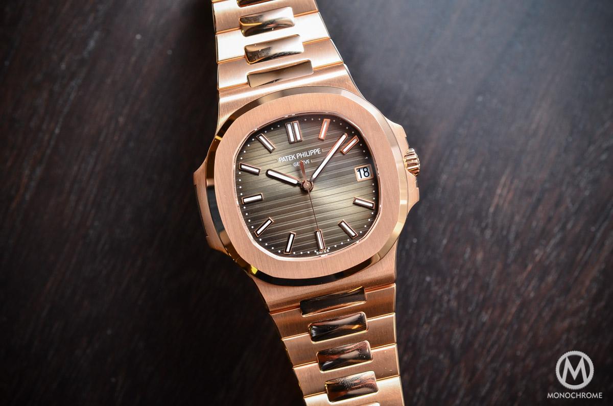 Patek Philippe Nautilus 5711 1r 001 Rose Gold Chocolate Dial