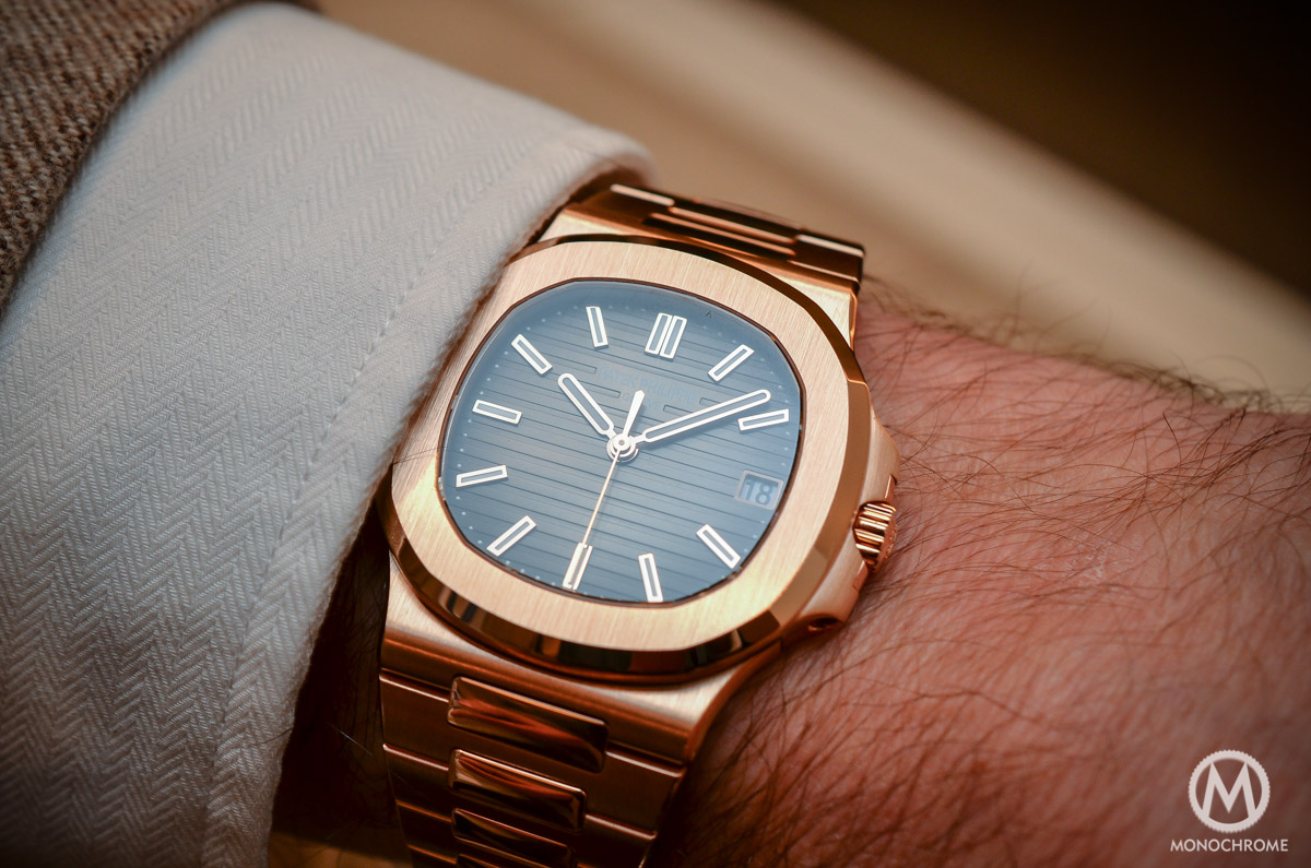 Patek Philippe Nautilus 5711:1R-001 - Rose Gold chocolate - 4