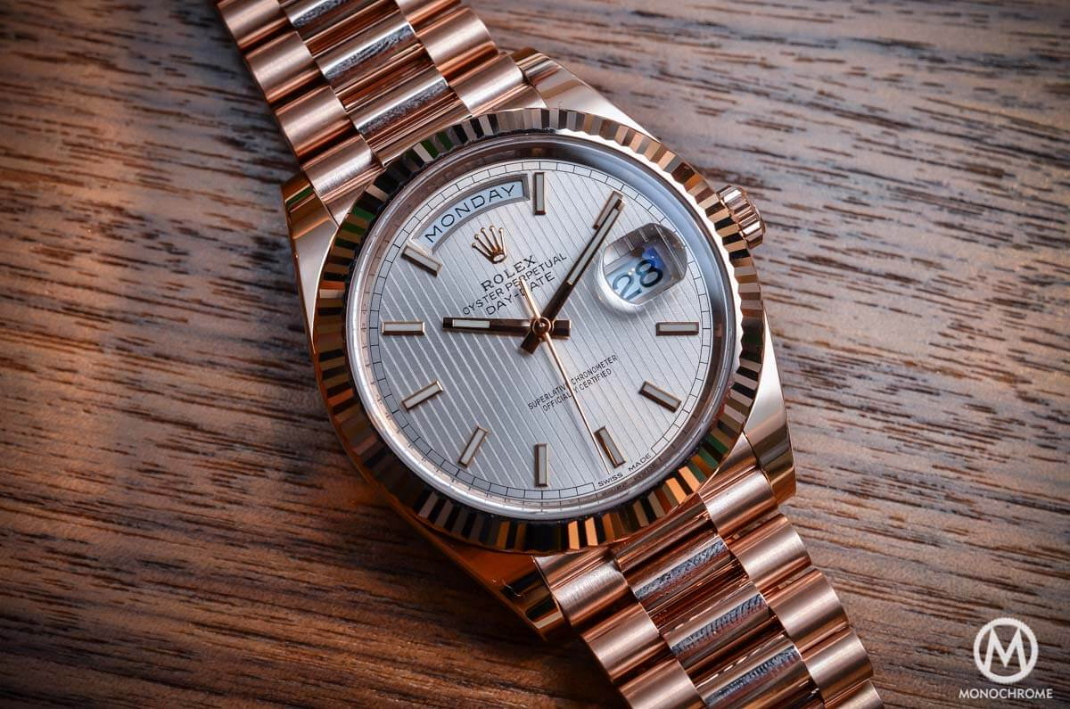 802d48727c50 Introducing the Rolex Day-Date 40 with the new Calibre 3255 (Live ...
