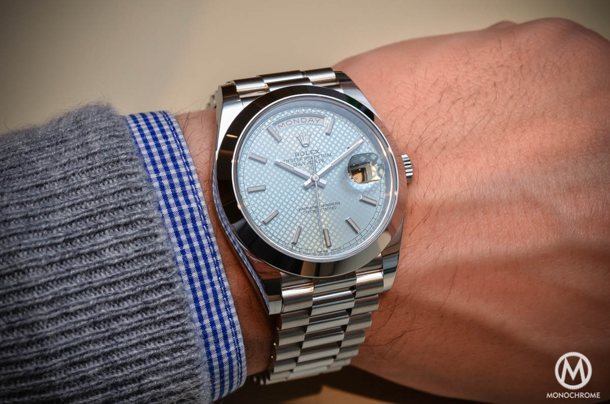 a1f089c0424 Introducing the Rolex Day-Date 40 with the new Calibre 3255 (Live ...