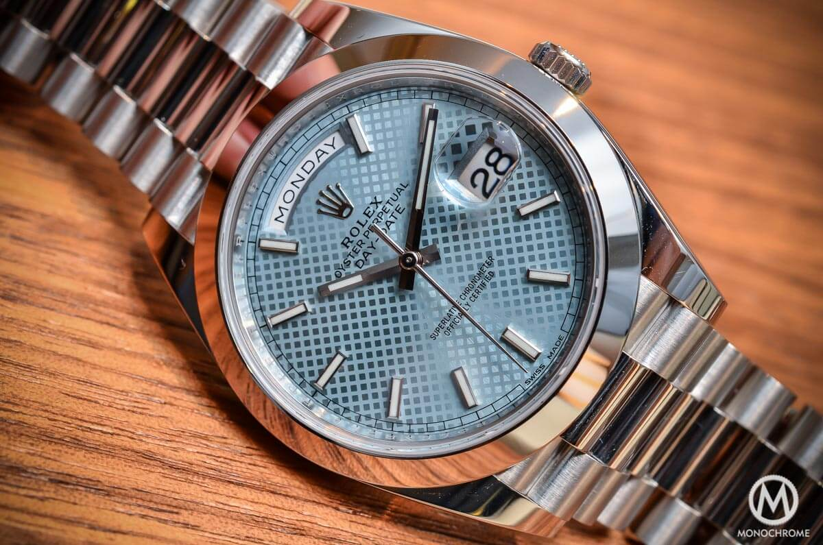 ce7b9c72624 Introducing the Rolex Day-Date 40 with the new Calibre 3255 (Live ...
