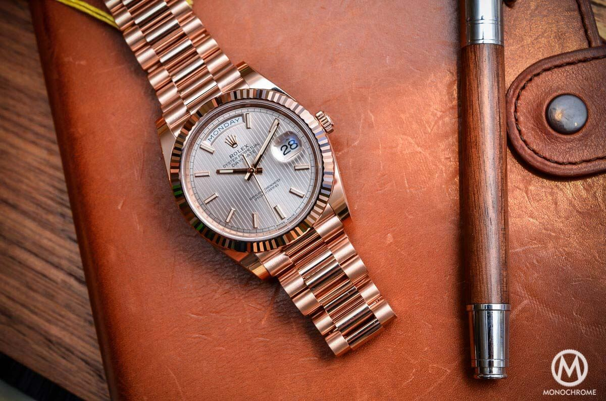 Introducing the Rolex Day,Date 40 with the new Calibre 3255