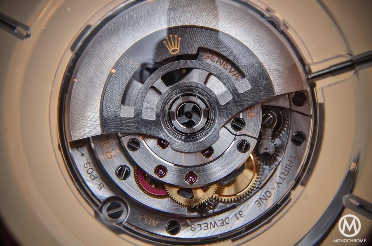 Rolex calibre 3255 - 2