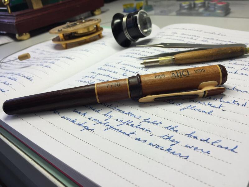 Wood pen AHCI 30th Anniversary Fund-Raiser - 2