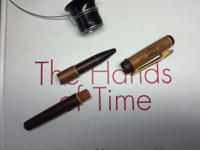 Wood pen AHCI 30th Anniversary Fund-Raiser - 3